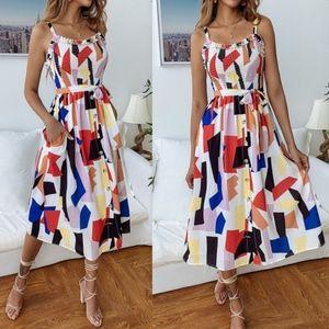 Bellanblue Dresses - LUCILLE Pop of Color dress